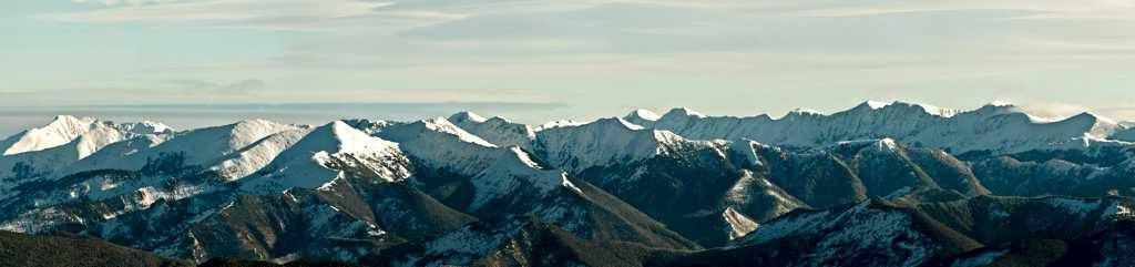 Вершины Байкальского хребта