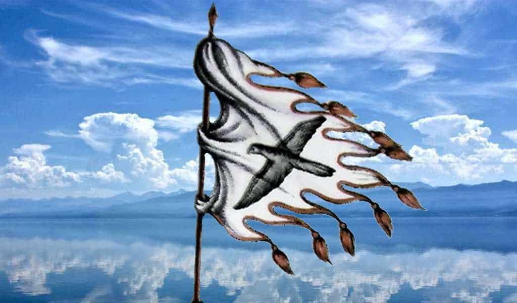 Флаг Чингисхана