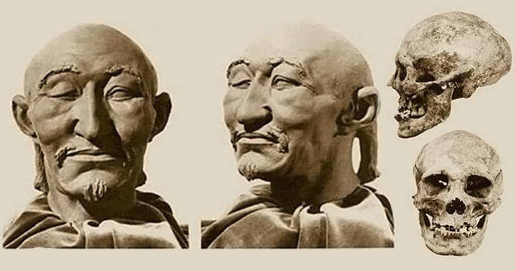 Реконструкция лица великого Правителя по «очень крупному» черепу