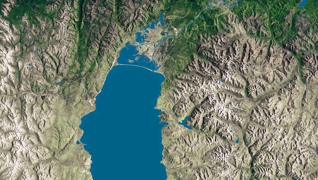 Северная часть Байкала