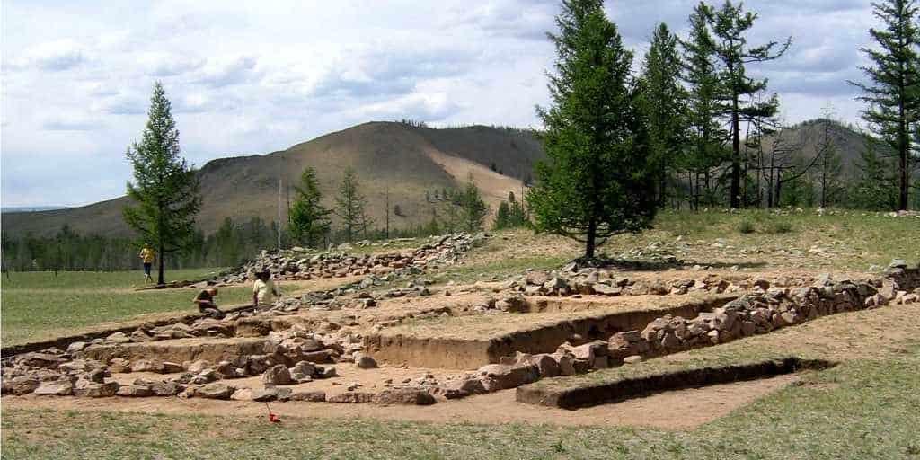 раскопки в Монголии