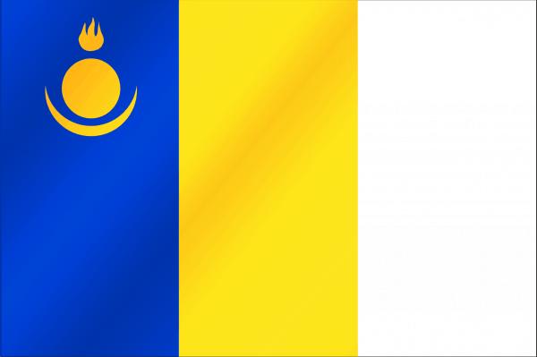 Флаг Агинского округа