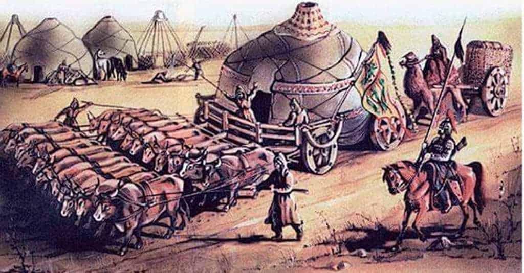 Девять могучих буйволов