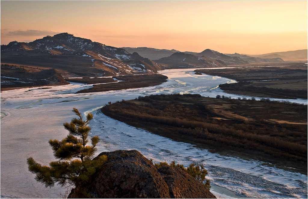 горное плато в Окинском районе Бурятии