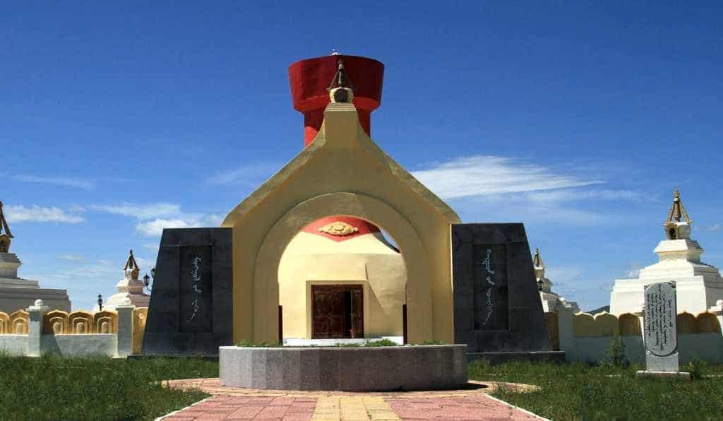 дворец почитания Великих Ханш Монголии