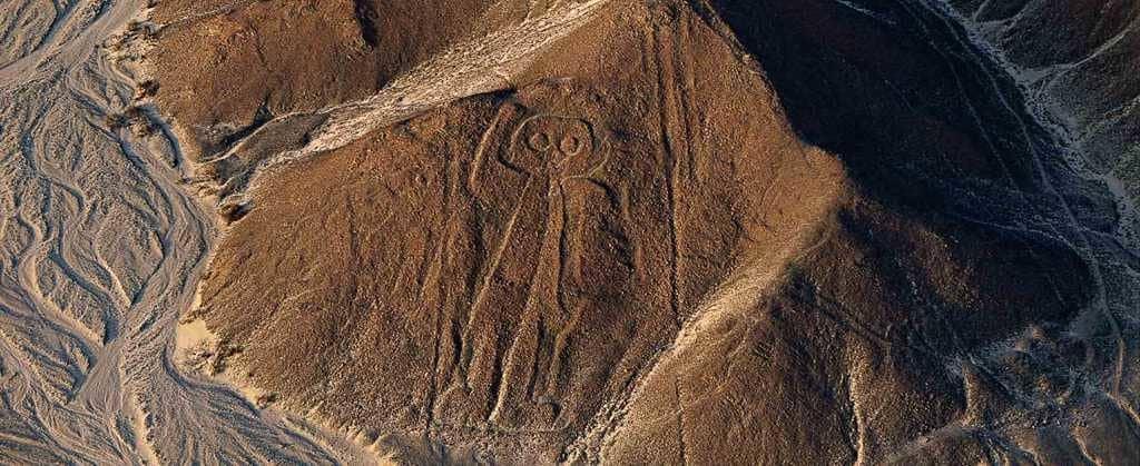 рисунки – геоглифы в Перу