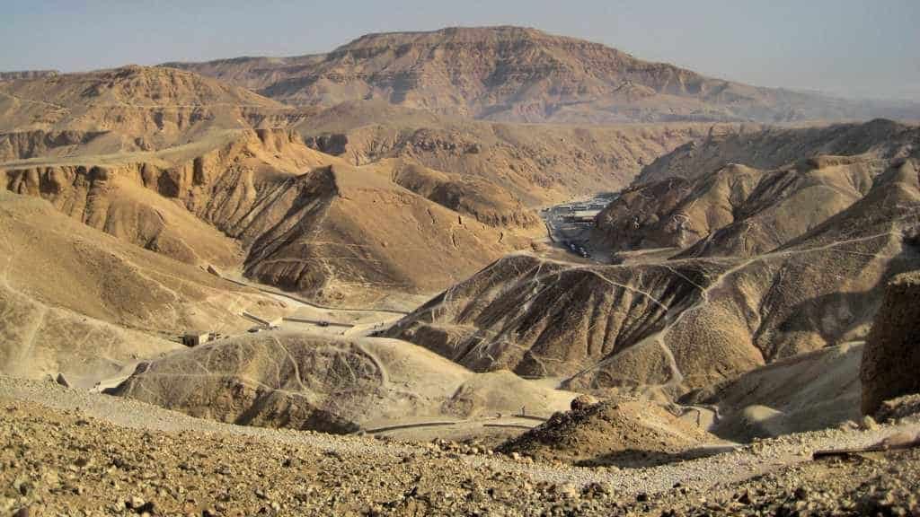 Долина Царей и Цариц Египта